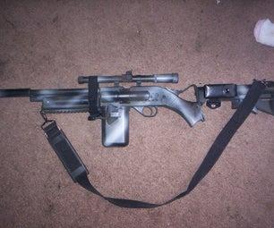 Camoflage Bb Gun Paint Job W/ Silencer