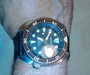 Wrist Watch - Leather  Band