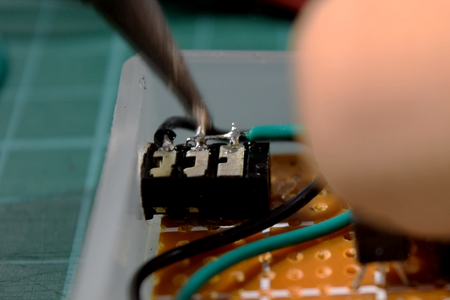 Solder the External Components to the Circuit