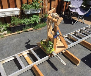Electric Chainsaw Mill