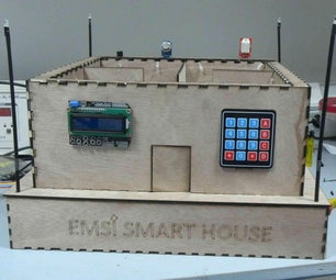 A Sensor Network Controlled by Arduino Within a Wooden House Model