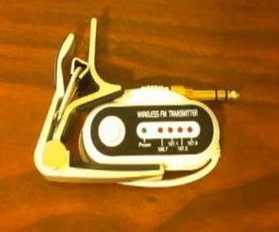Wireless Guitar Audio Transmitter / Tool Kit