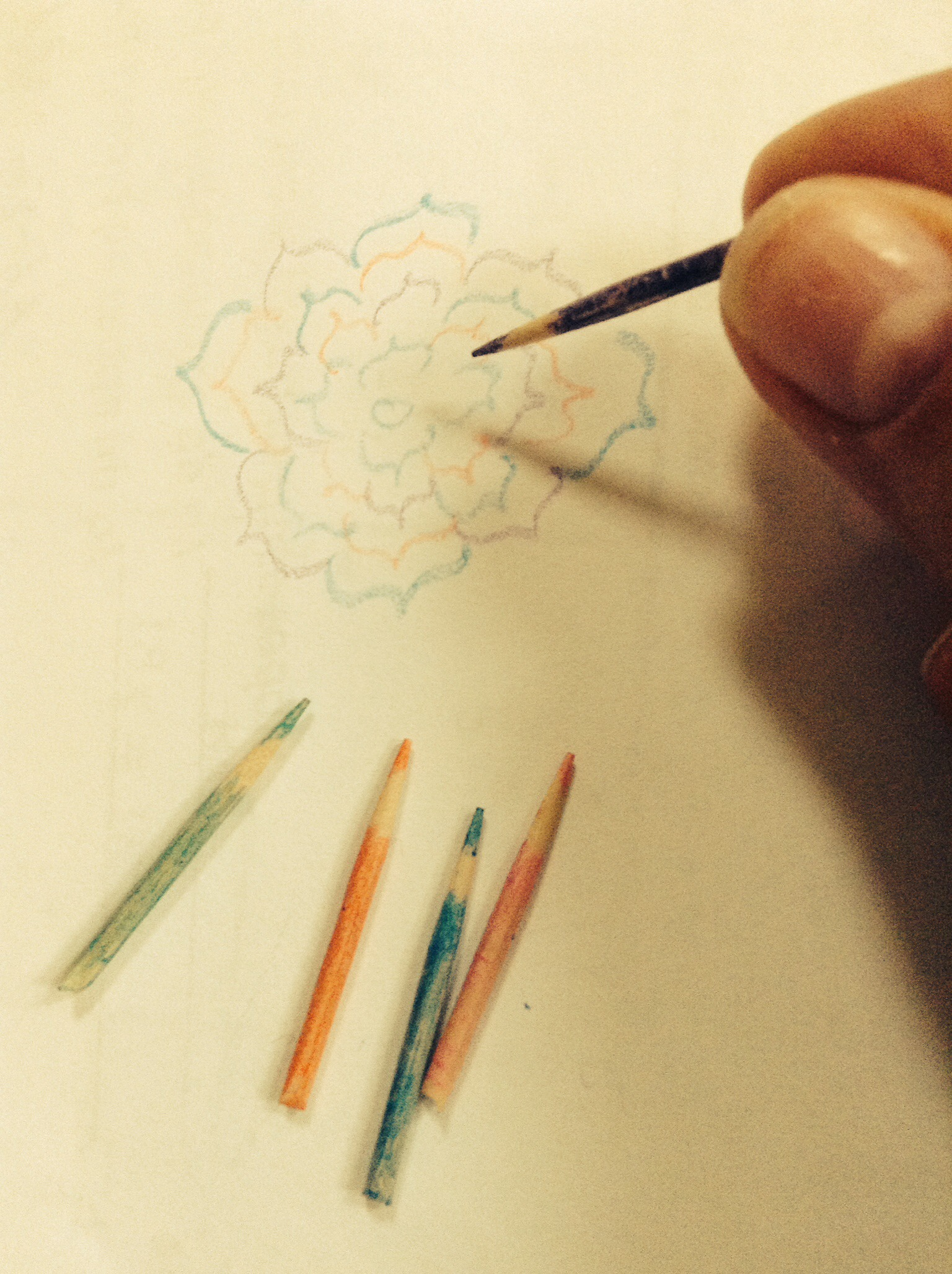 Tiny Colored Pencils