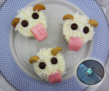 League of Legends Poro Cupcakes