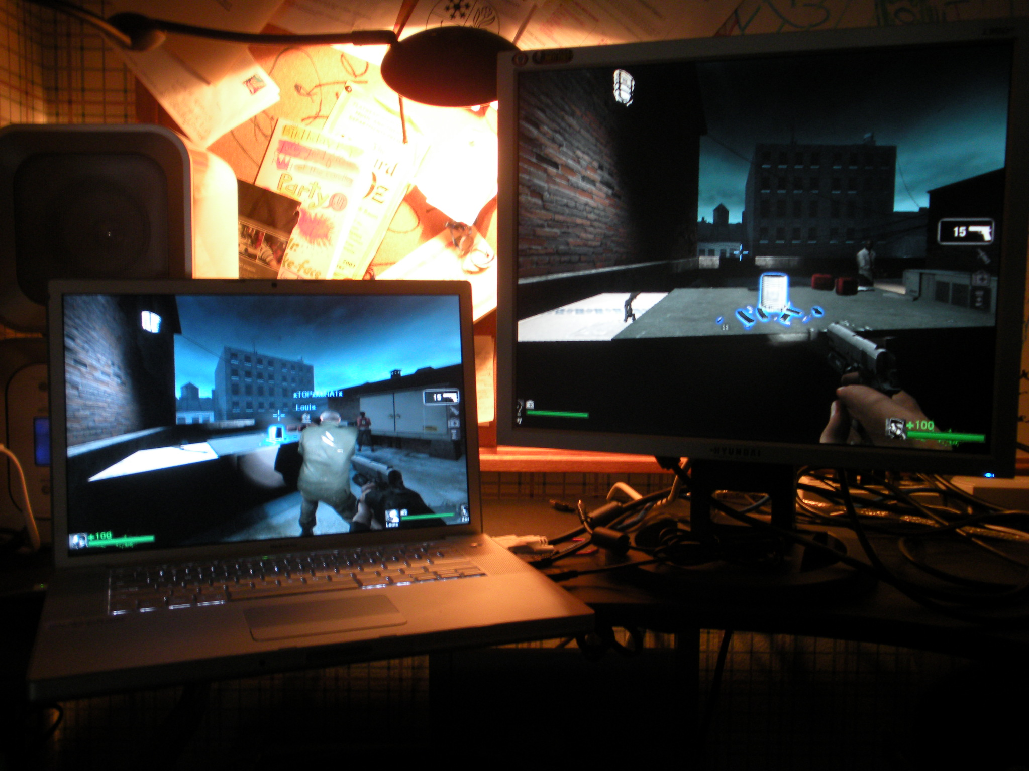 Left 4 Dead PC Co-op with 2 keyboards and 2 mice