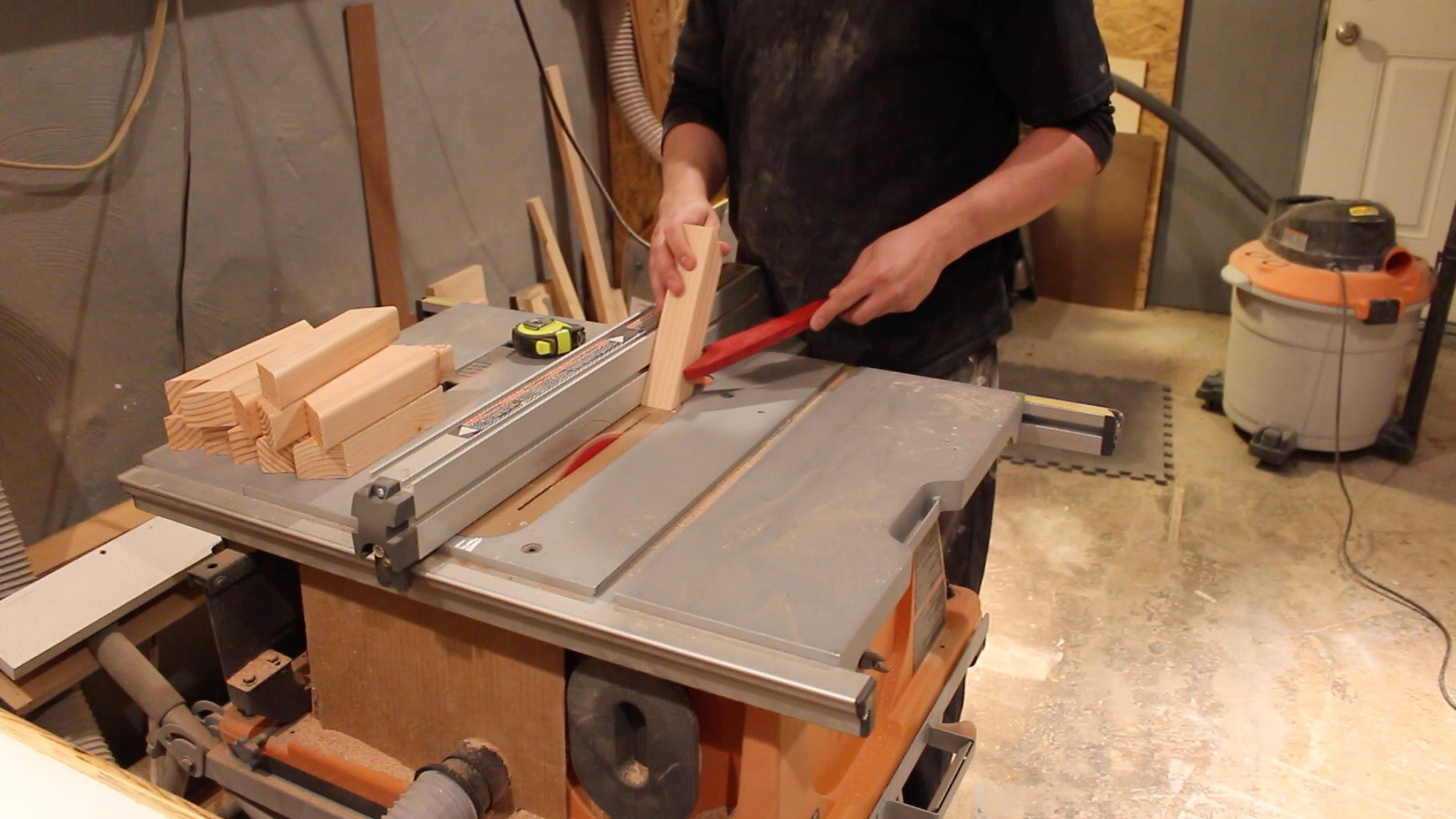 Fabricating the Hoop Segments