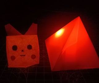 Origami Night Lamp