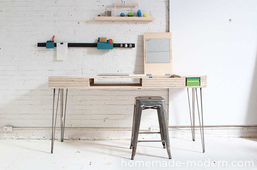 HomeMade Modern DIY Flip Desk