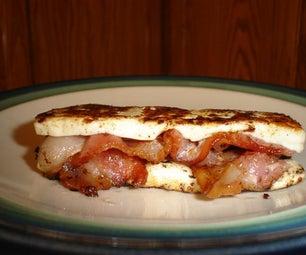 Bacon Queso Sandwich