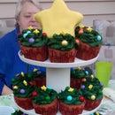 Christmas Cupcake Tree