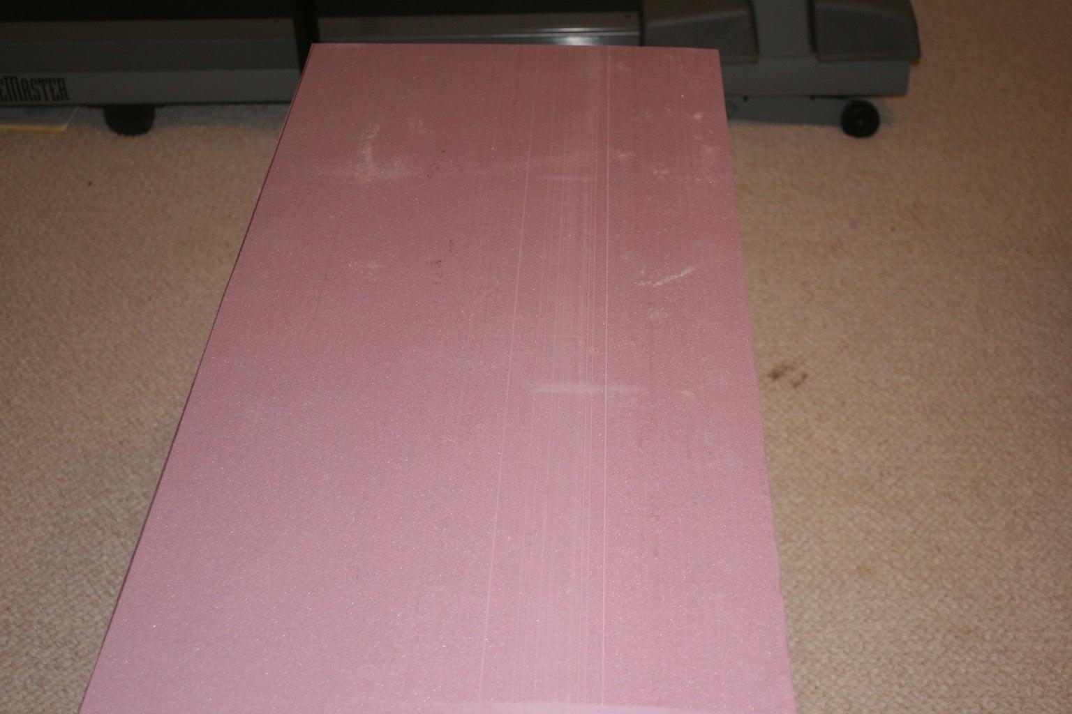 (optional) Preparing Your Foam Blanks.