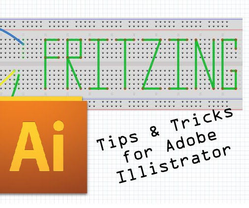 Quick Tips and Tricks When Making Fritzing Boards