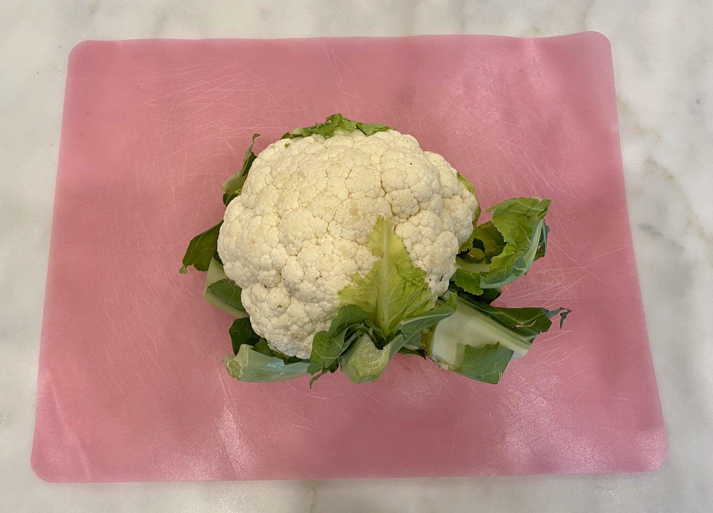 Cauliflower Steaks and Israeli Couscous