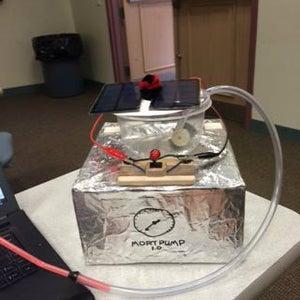 The Mort Pump AKA Solar Embalming Tank