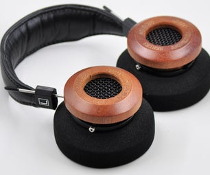 Make a GS3000e Premium Wood Over-Ear Open Back Headphone