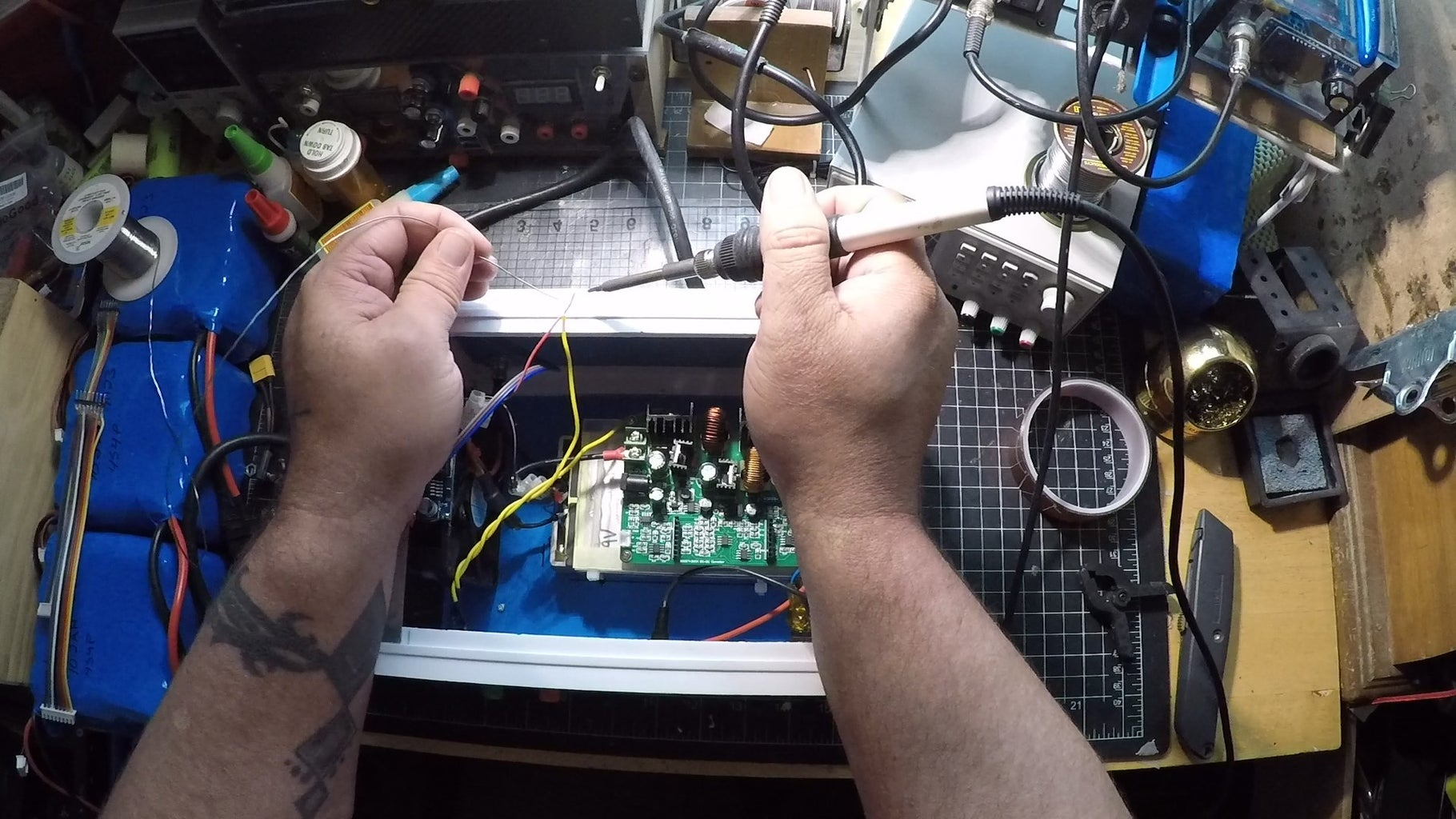 Add Face & Connect Wiring