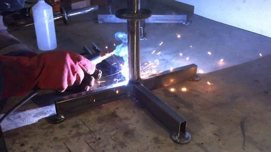 Welding to the Base.