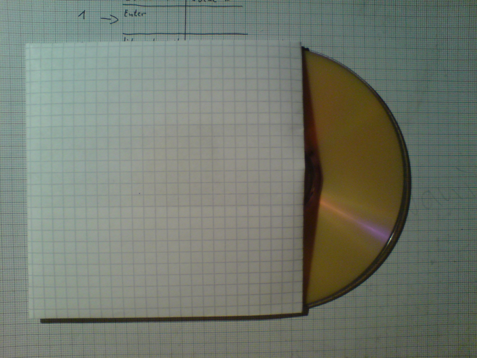 Best CD-case from one paper
