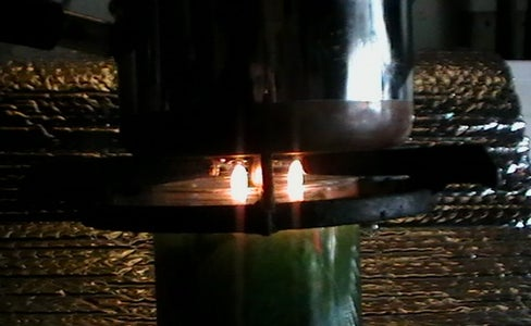 Cooking With Three Candle Flames