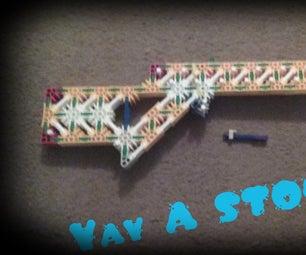 K'nex Slingshot Gun Update + Competition/challenge
