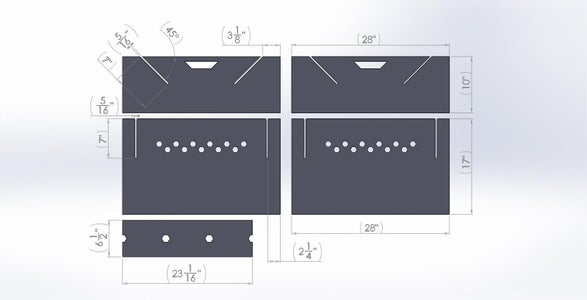 Portable Fire Pit - Design and Planning
