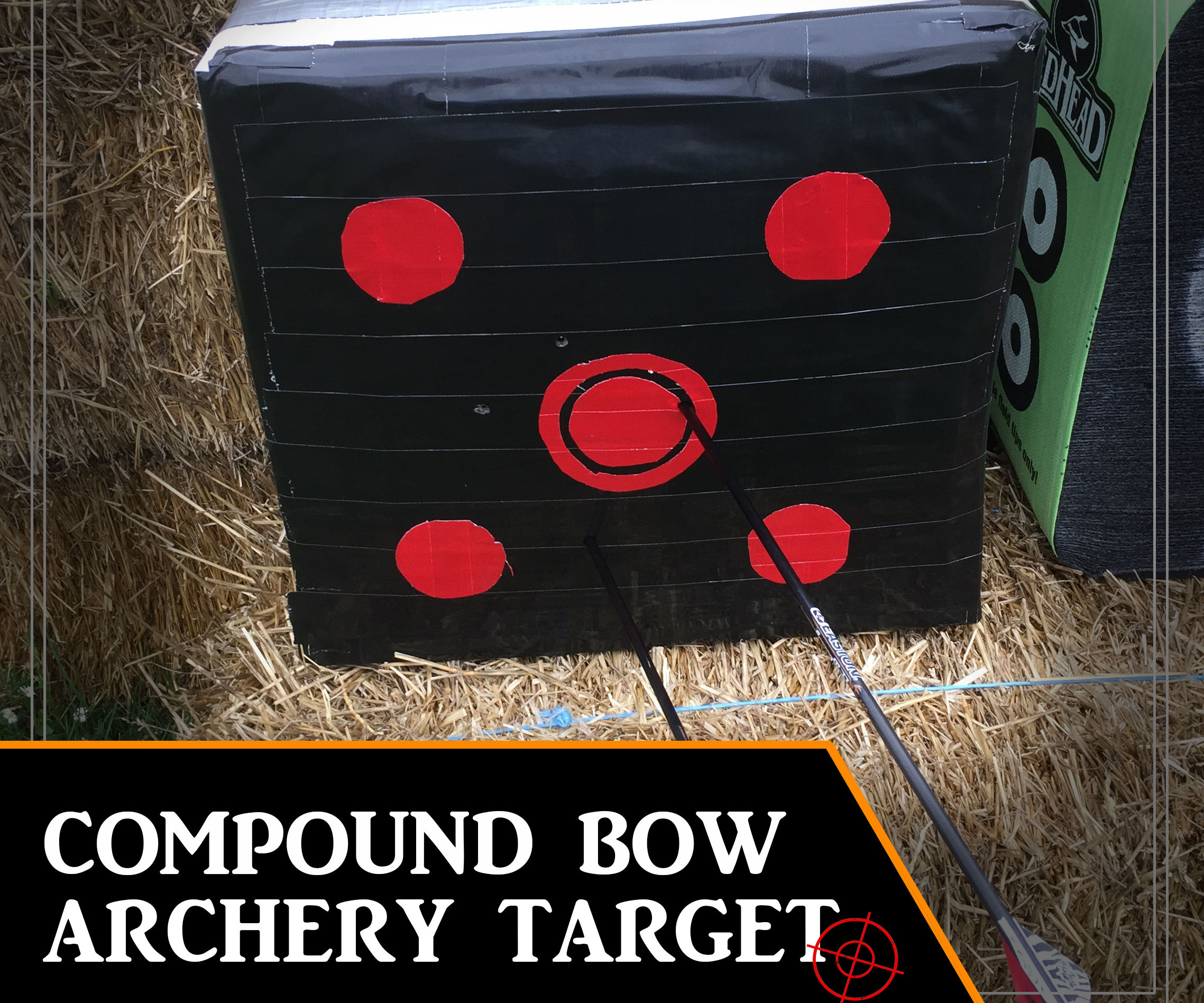 70 LB DUCKTAPE COMPOUND BOW TARGET