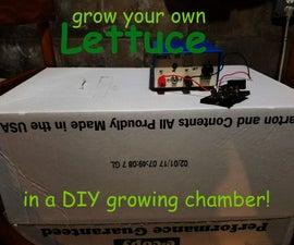 DIY Growing Chamber