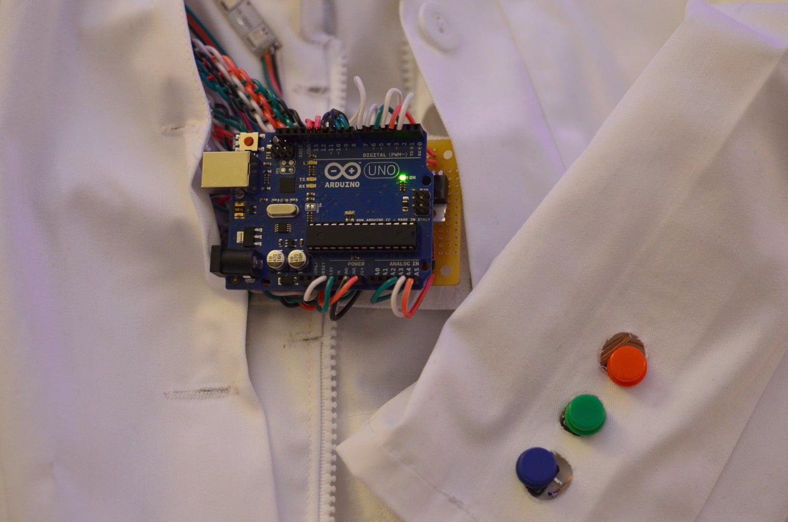 Interactive LED Lab Coat