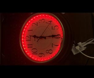 Glow in the Dark Clock