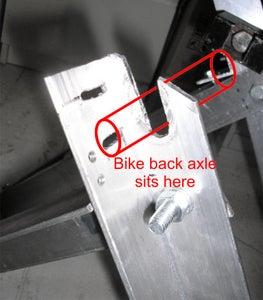 Make the Bike Axle Notch