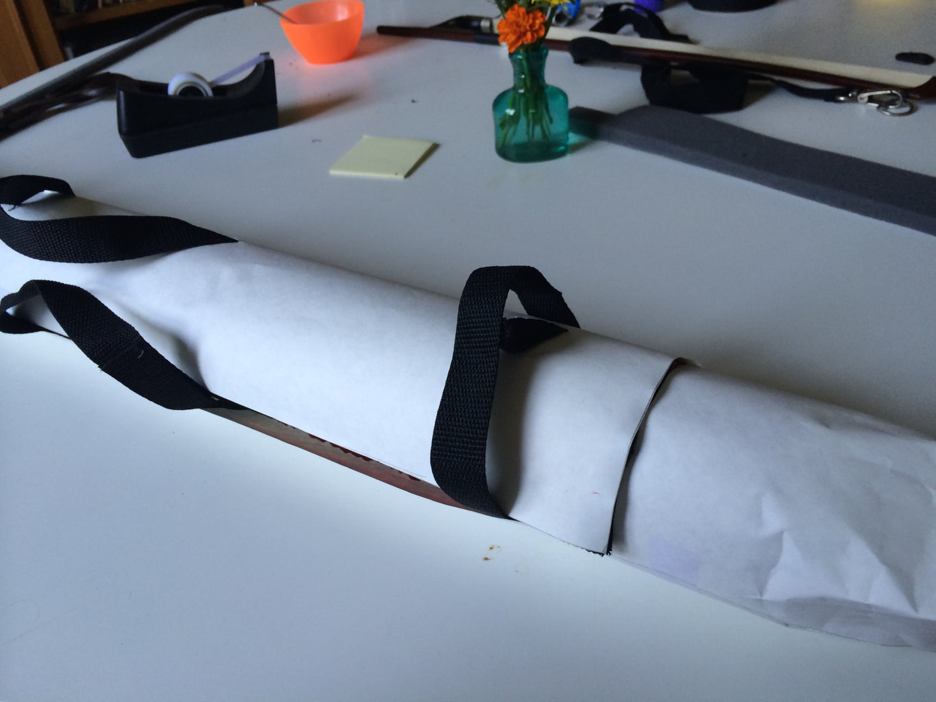 Making the Leather Pattern
