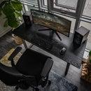 The Shou Sugi Ban Desk