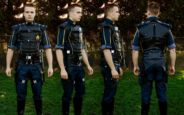 Commander Shepard Steel Reinforced Uniform - Mass Effect 3