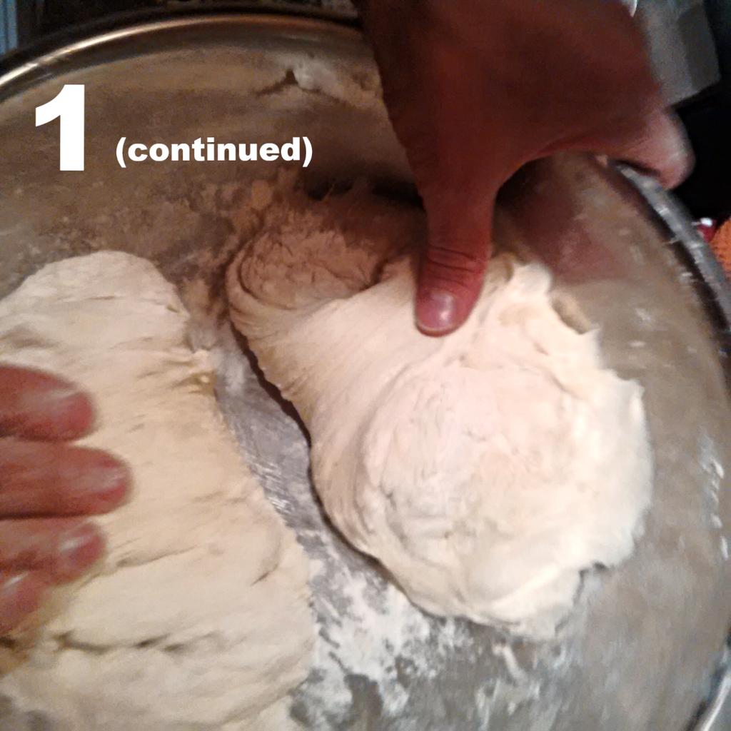Split the Dough in Half (5 Minutes)