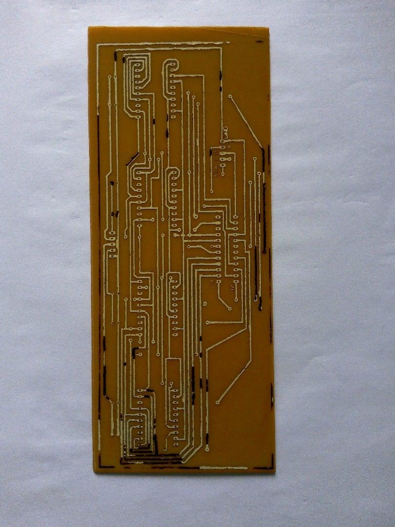 Make the PCB (Toner Transfer Method)