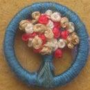 Dorset Button Posy Brooches