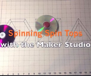 Spinning Spin Tops