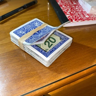 Disguised Deck of Cards Safe