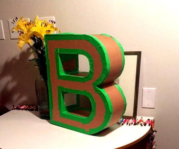 Create a 3D Letterform
