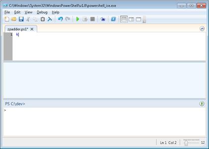 Using Powershell to Pad Files