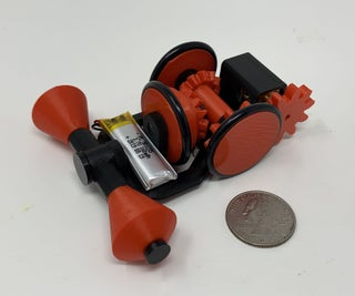 """""""No Fall"""" Toy Mechanism"""