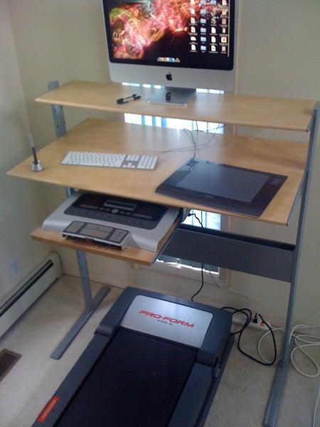 Fancy Ikea Treadmill Desk