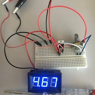 Versatile Voltage Regulator With LM317