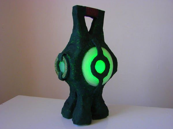 How to Make a Green Lantern Power Battery (2011)