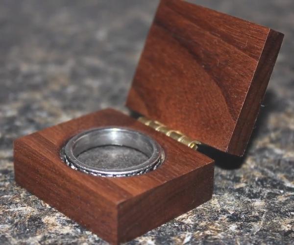 Making a BEAUTIFUL Ring Box!!