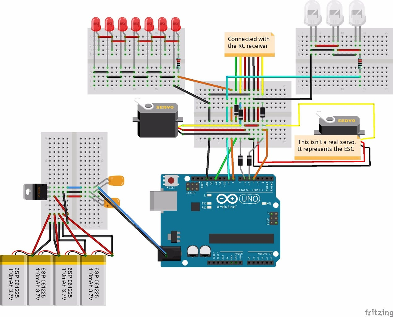 Connections With Arduino
