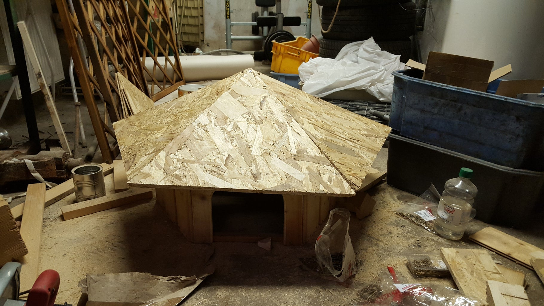 Step 6: Use Plywood to Create the Roof