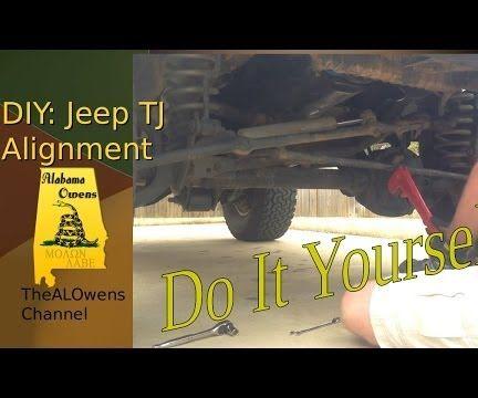 Jeep Wrangler (TJ) Alignment