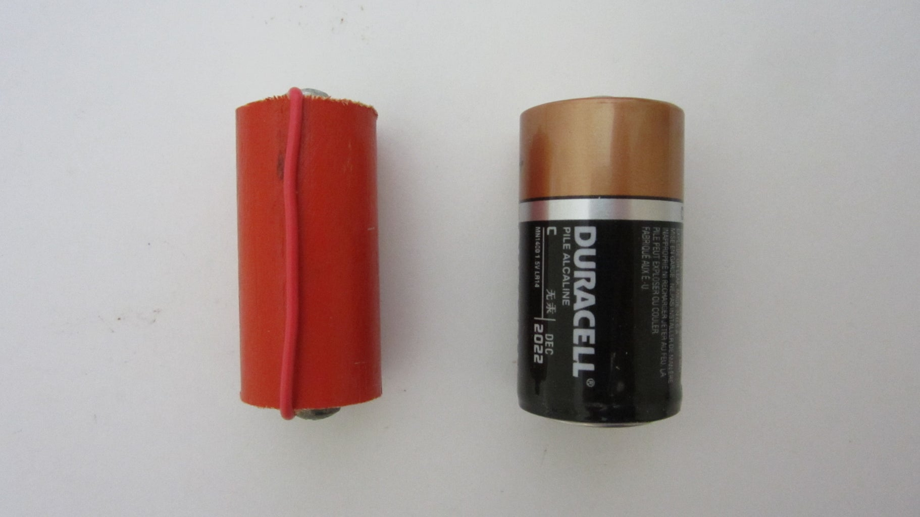 Connect the Power Supply Using a Dummy Battery