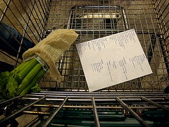 Grocery Shop With a List.